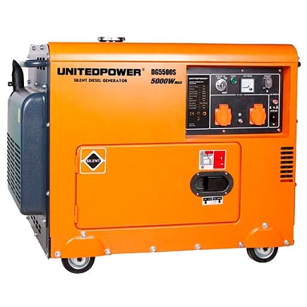 Генератор United Power DG5500SE