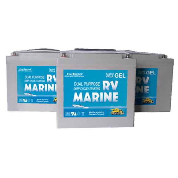 Аккумулятор  EverExceed MARINE GEL  D8G4DM-12200MG
